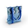 blau türkis kachlig